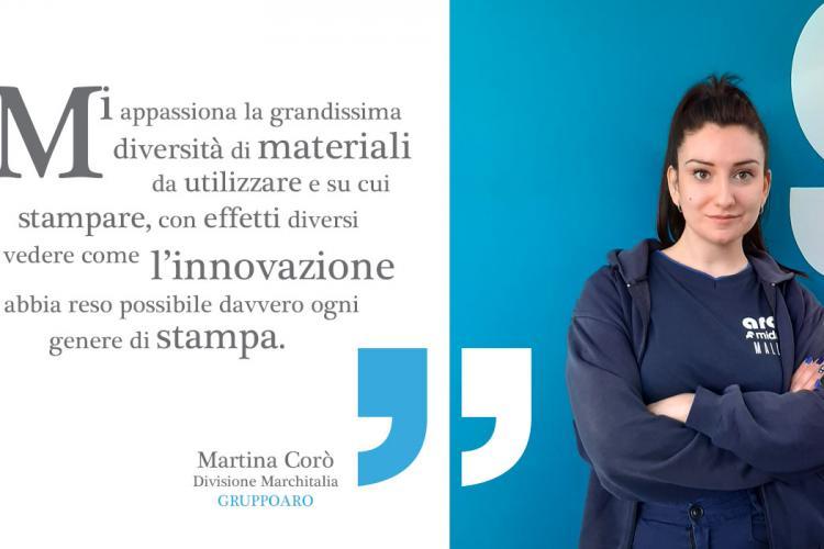 Martina Coro Gruppo Aro Divisione marchitalia