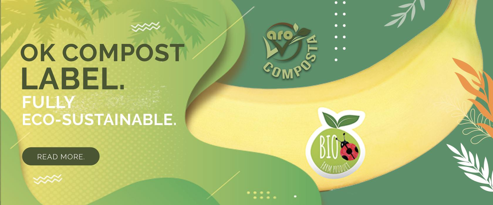 OK COMPOST LABEL FULLY ECO-SUSTAINABLE COMPOSTABLE BAGS
