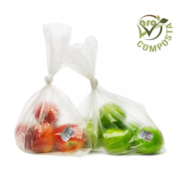 Etichetta compostabile