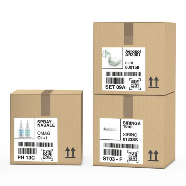 Etichetta logistica pharma