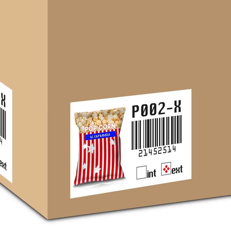 etichetta barcode