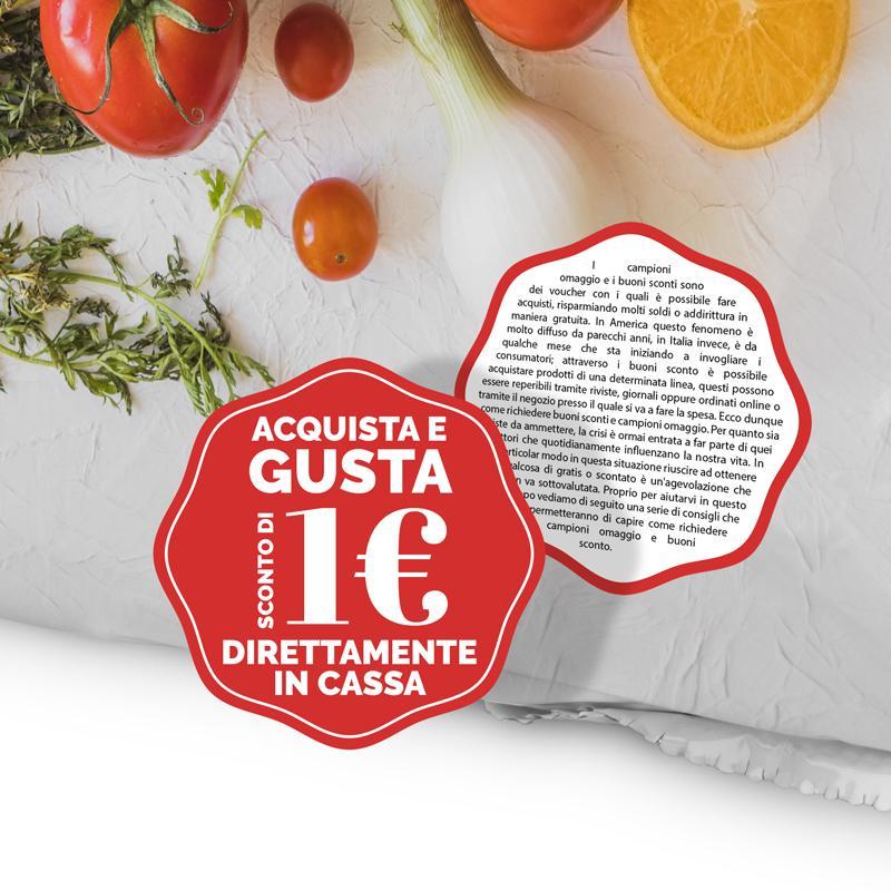 promozionale etichetta dry peel