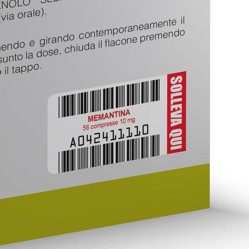 funzionale etichetta doppia ean pharma