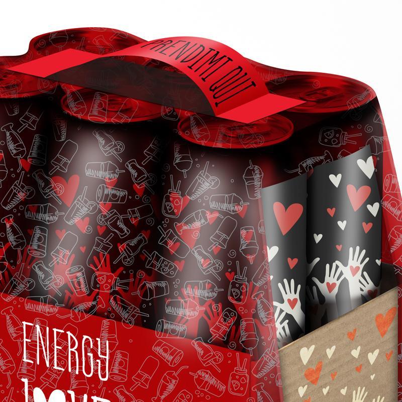 Funzionale etichetta maniglia beverage